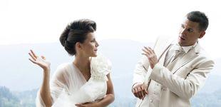 Post de Vestida de novia irrumpe en una boda, pega al novio y le grita: