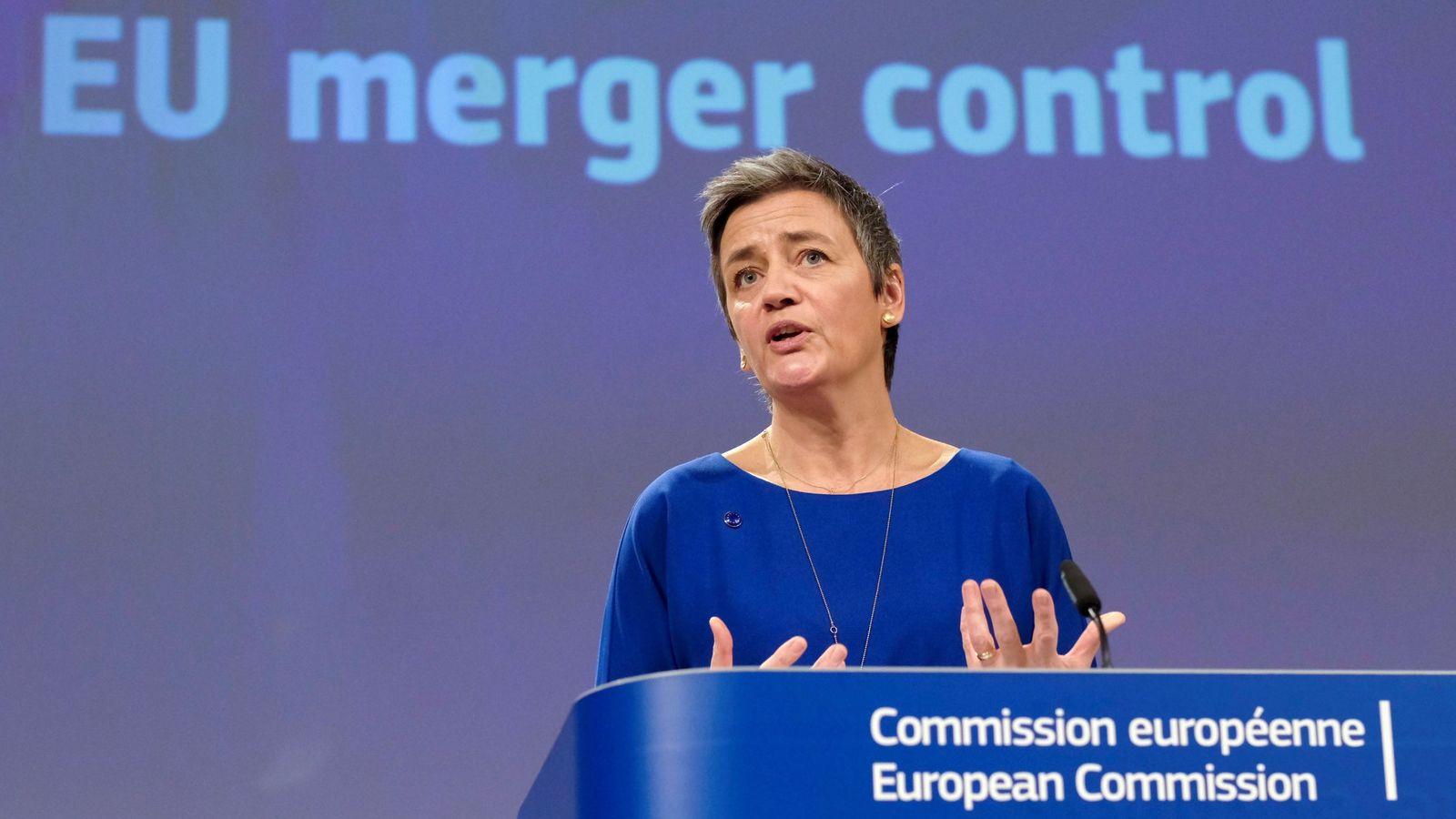Foto: Margrethe Vestager, comisaria de Competencia. (EFE)