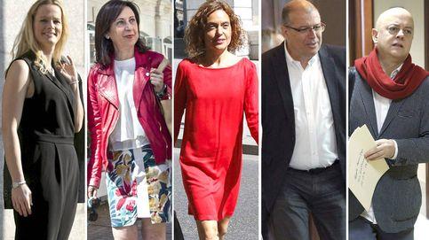Los  apóstoles del no a Rajoy: Margarita Robles, Sumelzo, Elorza...