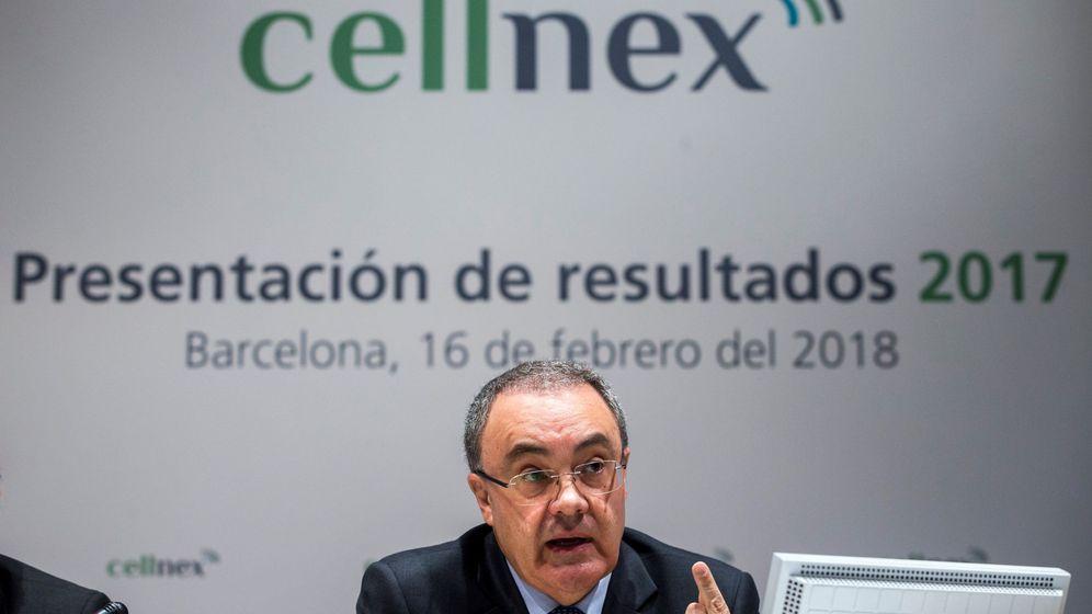 Foto: Tobías Martínez, presidente de Cellnex. (Efe)
