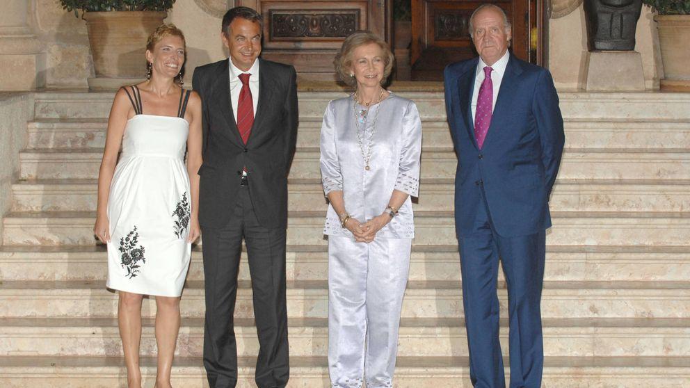 Cuando el duelo de estilo en Marivent se medía entre doña Sofía y Sonsoles Espinosa