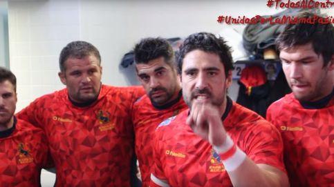 ¡Hoy es el primer partido de Japón!. Así se motivan los Leones del rugby