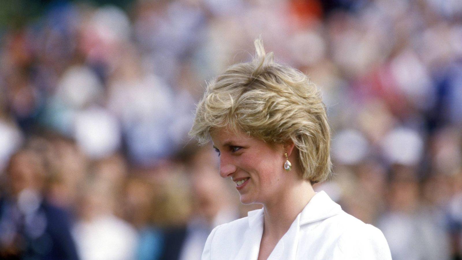Foto: Diana de Gales en una foto de archivo. (Cordon Press)