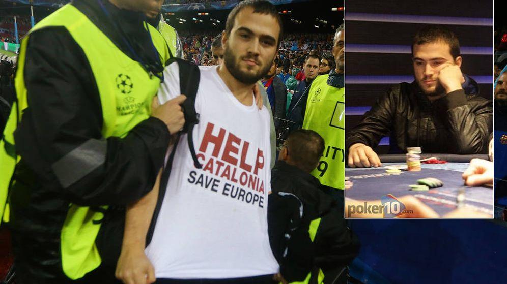 Foto: Sergi Aymerich, en un montaje de EC. (Fotos: Reuters)