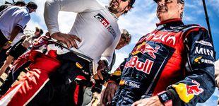 Post de Fernando Alonso y Carlos Sainz tendrán problemas si se abrazan con afecto en el Dakar