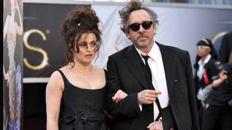 Helena Bonham Carter y Burton, en una imagen de archivo. (Cordon Press)