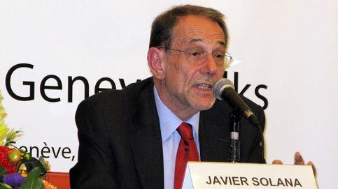 Javier Solana, ingresado por coronavirus, manda un emotivo mensaje