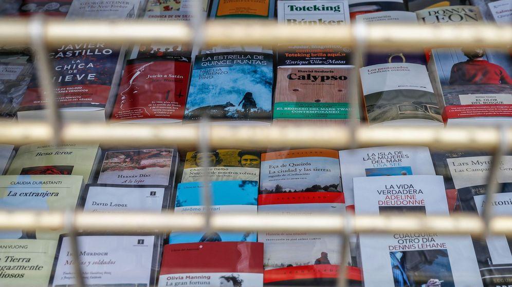 Foto: Algunas librerías comenzarán este lunes con cita previa, pero la gran mayoría seguirán cerrada hasta el 11 de mayo (EFE)