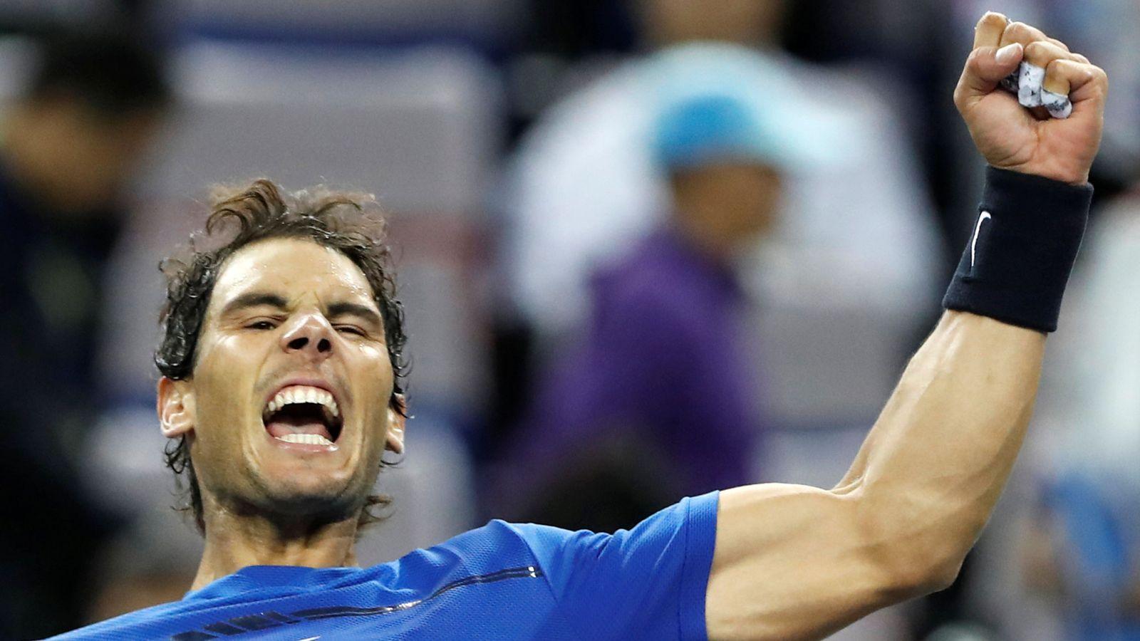 Foto: Rafa Nadal nunca ha ganado el torneo de Shanghái. (Reuters)