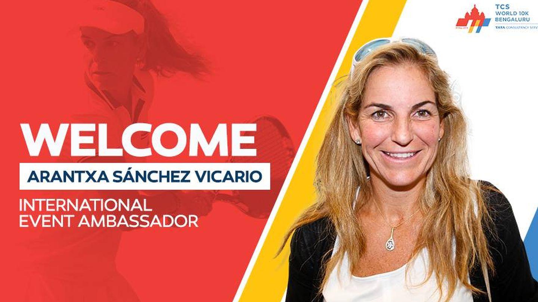 Cartel de bienvenida a Arantxa en su nueva andadura profesional. (Twitter)