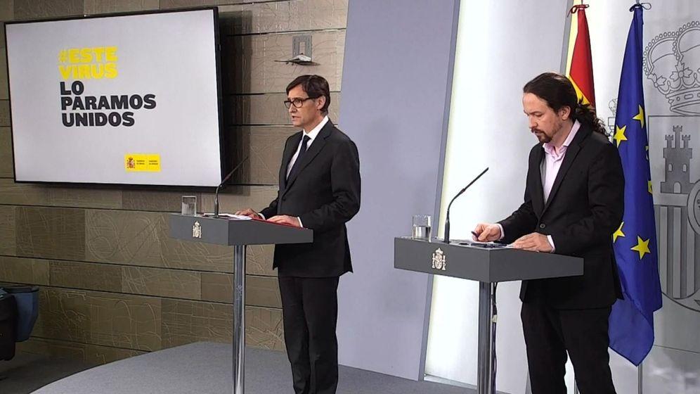 Foto: Pablo Iglesias, en Moncloa. (Reuters)