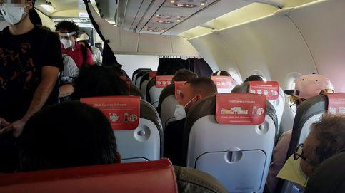 Un viajero da positivo en un avión a Lanzarote mientras volaba a la isla