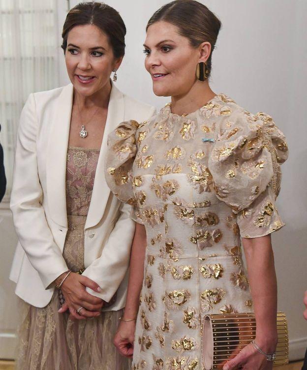 Foto: Mary de Dinamarca y Victoria de Suecia. (Cordon Press)