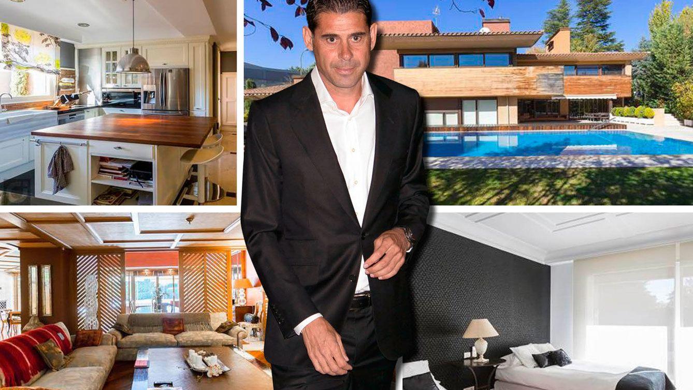 Foto: Así es la mansión que Fernando Hierro vende en Madrid