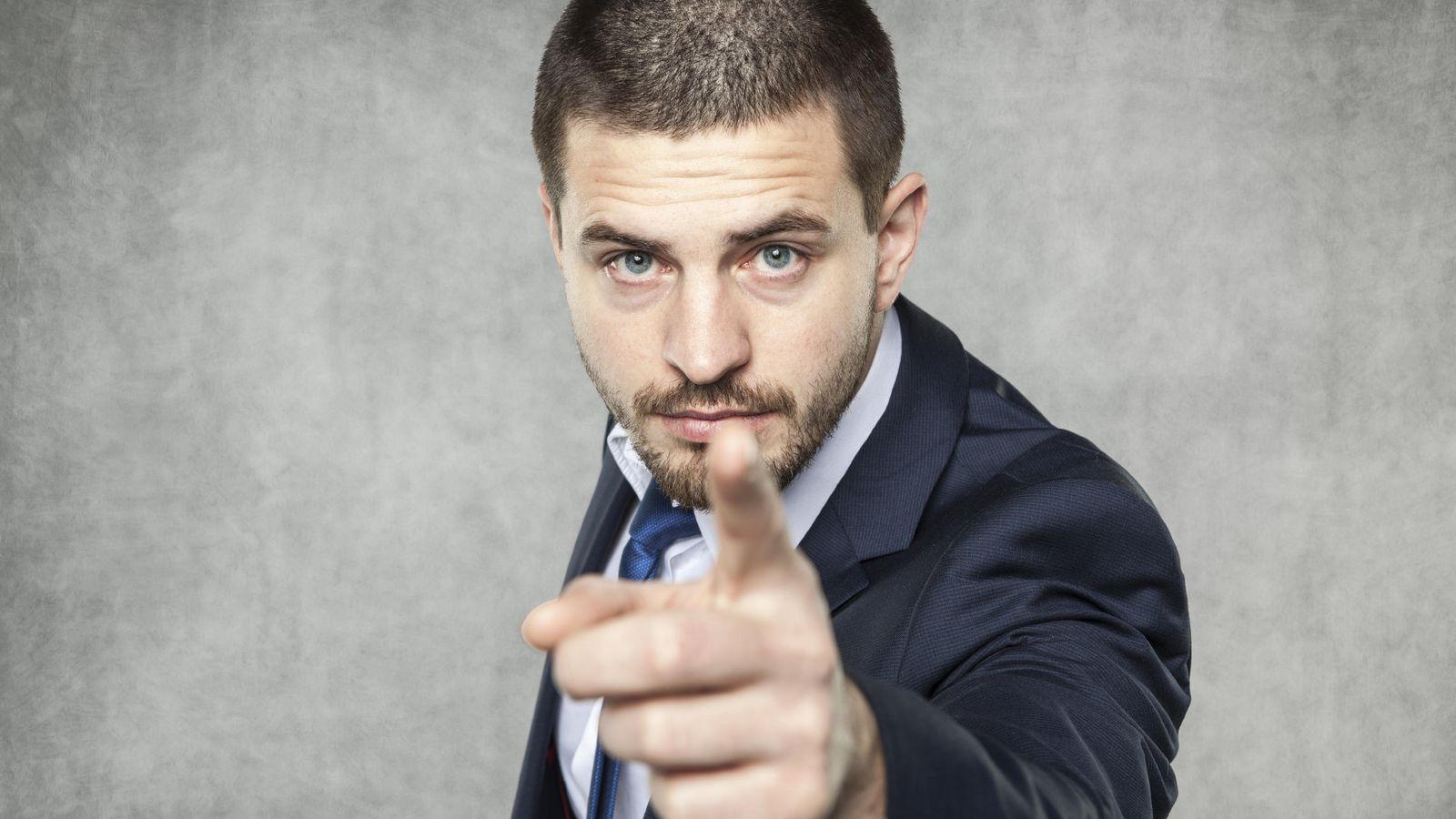Foto: 'Sí, soy un gilipollas, pero también soy tu jefe'. (iStock)