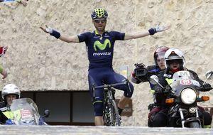 Valverde, tercero en una Strade Bianche que gana Kwiatkowski