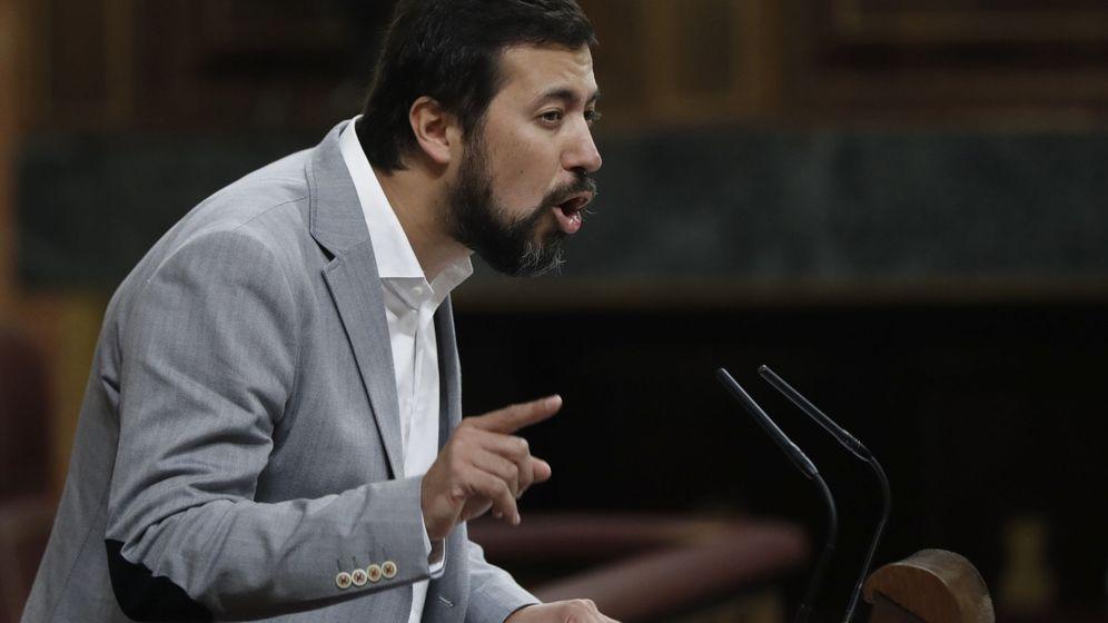 Foto: El portavoz de En Marea en el Congreso, Antón Gómez-Reino. (EFE)