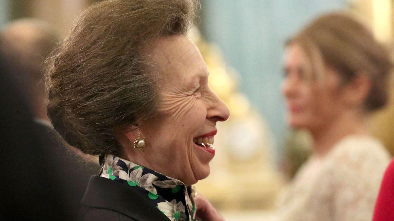 Ana en la recepción de la OTAN. (Reuters)