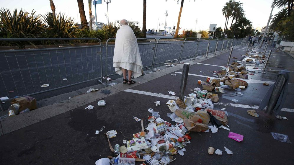 Foto: Promenade des Anglais en Niza: el recorrido del camión terrrorista