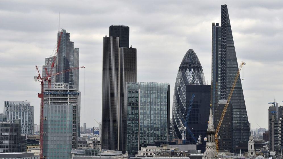 Foto: Vista general de la City de Londres, Reino Unido. (EFE)