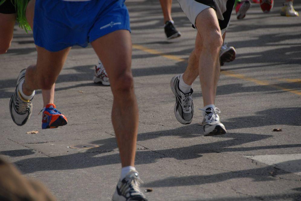 Foto: Varios corredores, durante una prueba de running (Creative Commons - Flickr/Ryan Knapp).
