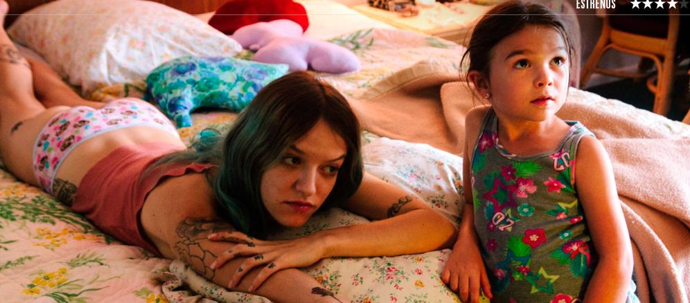 Foto: Bria Vinaite y Brooklynn Prince, en 'The Florida Project'. (Diamond)
