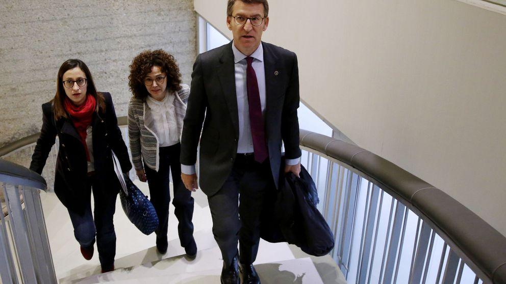 Feijóo endurece la réplica del PP a los 'indepes': Manejar datos fiscales es delito