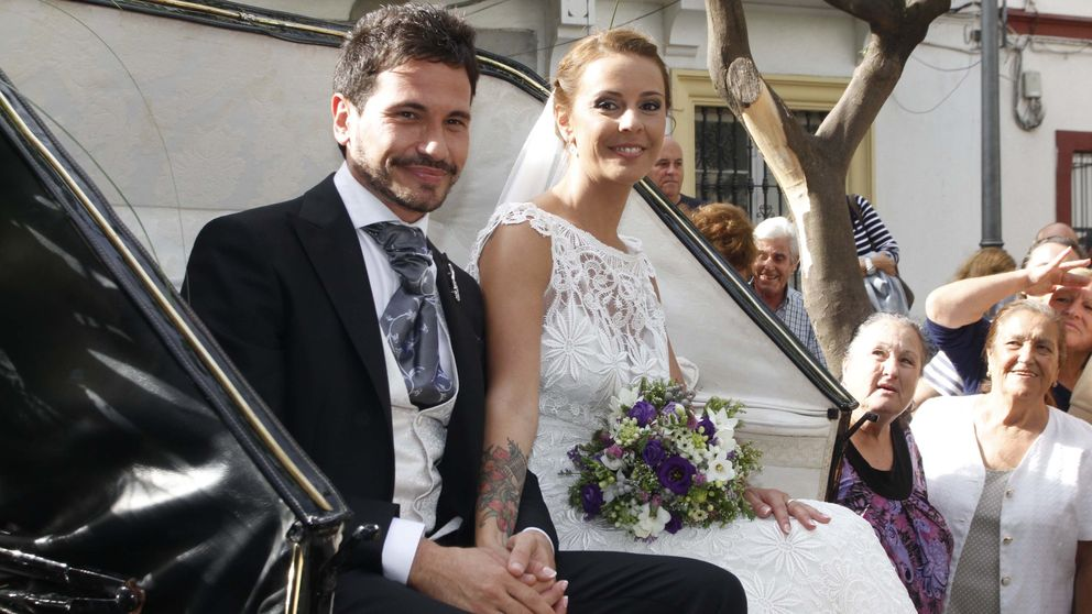 La boda típicamente andaluza de David de María y Lola Escobedo