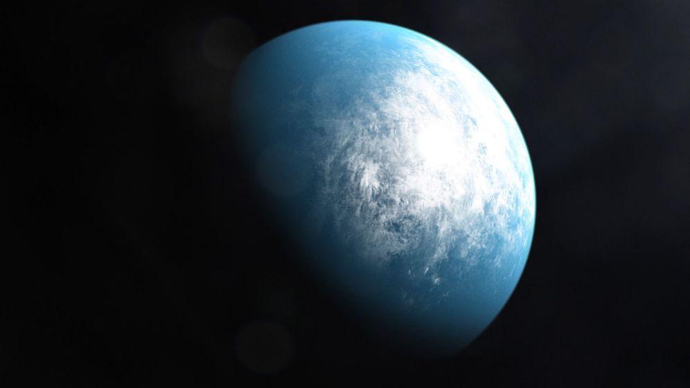 Foto: Imagen de un exoplaneta. Foto NASA