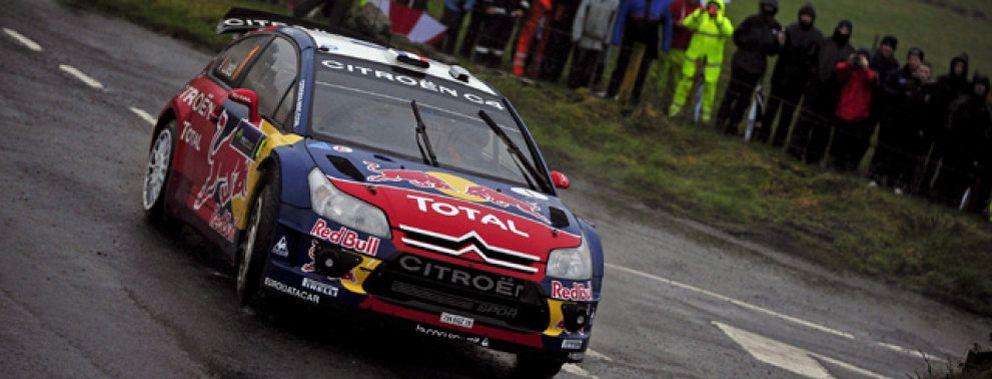 Loeb se hace con la primera victoria de la temporada, seguido de Sordo