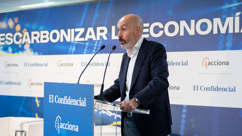 Nacho Cardero, director del El Confidencial, durante su intervención en el foro.