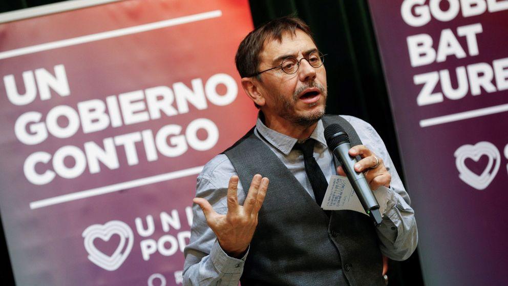 Investigada por corrupción una empresa vinculada a Monedero y Podemos en Bolivia