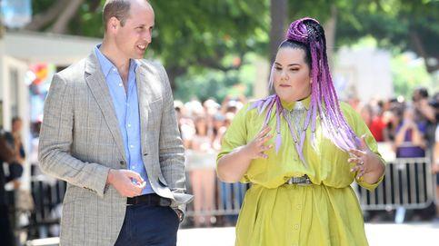 La extraña cita entre el príncipe Guillermo y Netta, icono gay y ganadora de Eurovisión