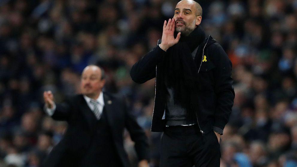 La federación inglesa abre expediente a Guardiola por llevar el lazo amarillo