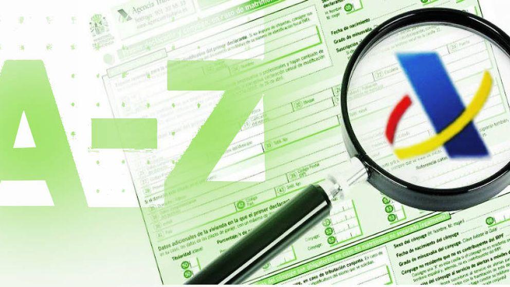 La declaración de la renta, de la A a la Z: borrador, registro, renta a devolver...