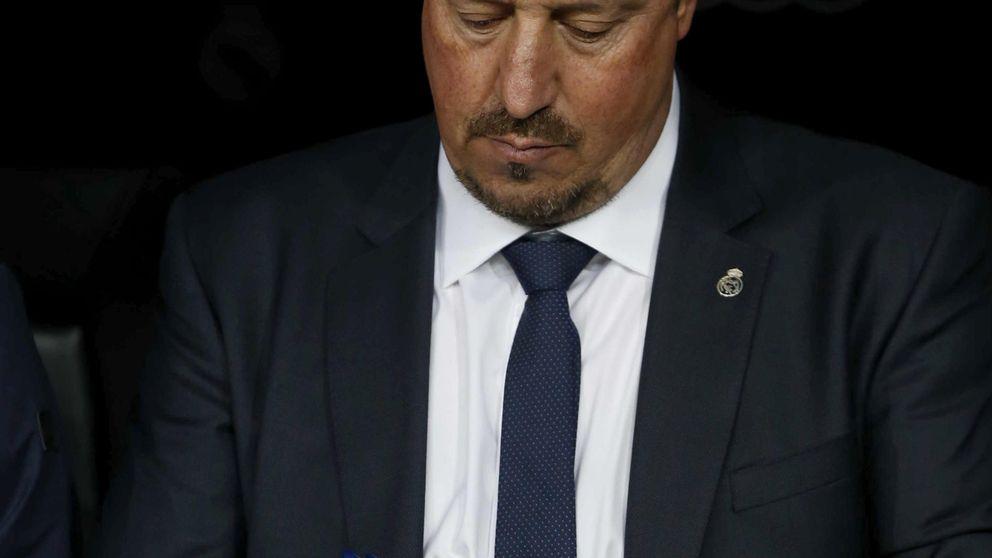 Rafa Benítez apunta, el Bernabéu dispara y Florentino Pérez se agacha