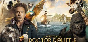 Post de Sorteamos cinco entradas dobles de 'Las aventuras del doctor Dolittle'
