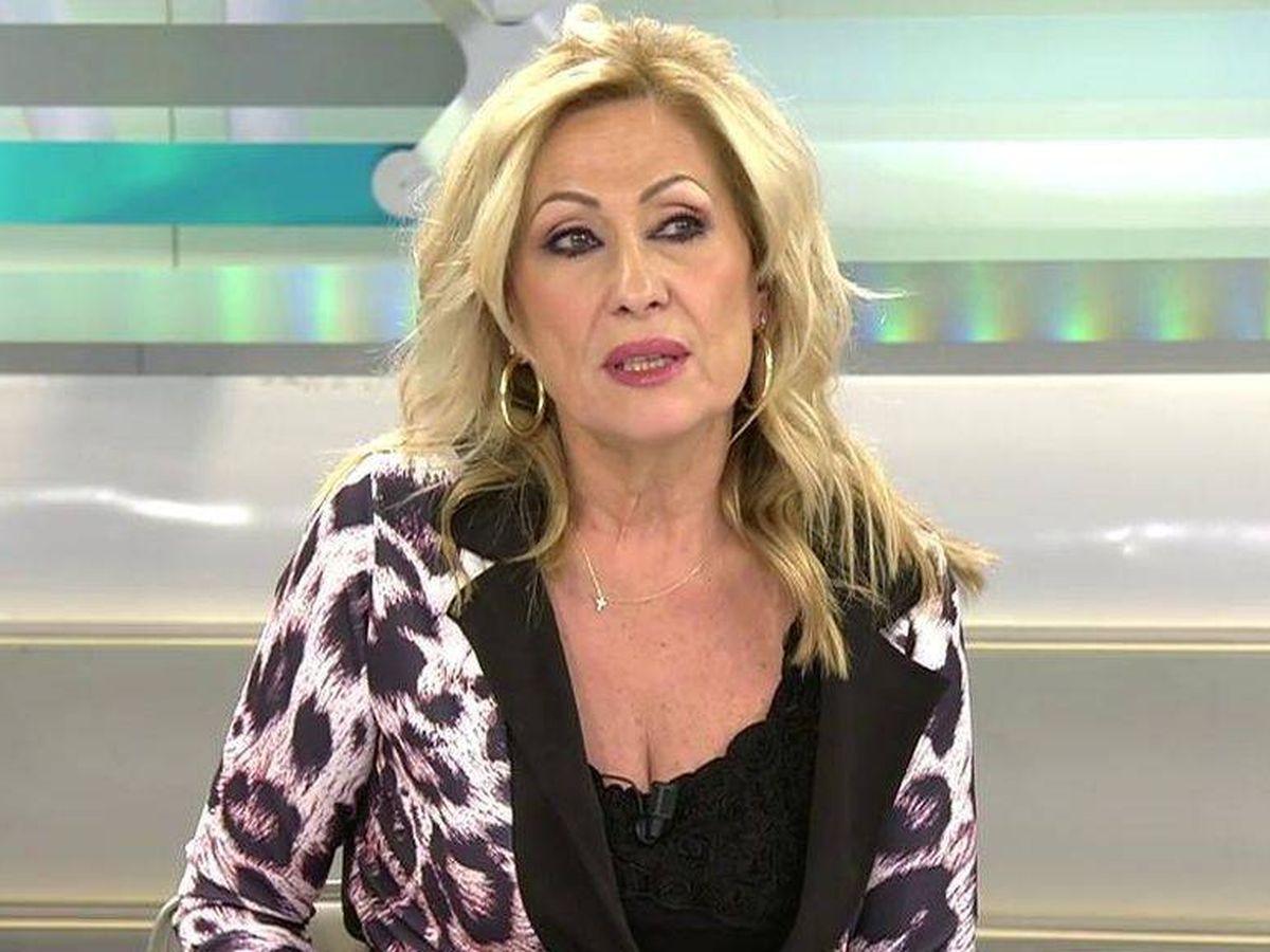 Foto: Rosa Benito, en 'Ya es mediodía'. (Telecinco)