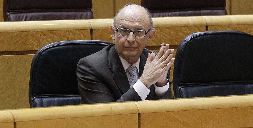 El ministro de Hacienda, Cristóbal Montoro. (EFE)