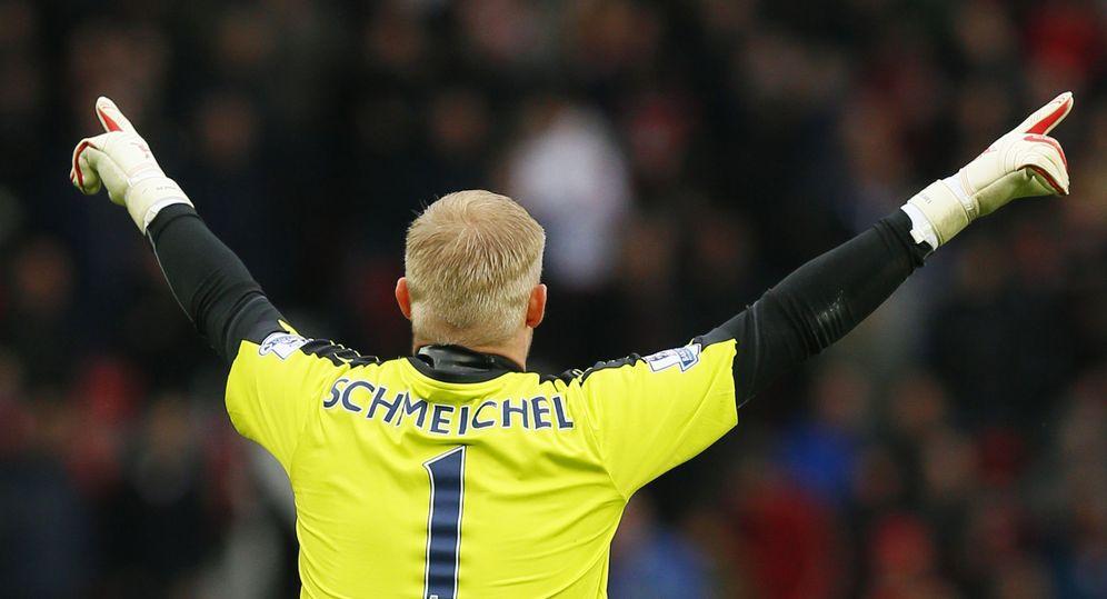 Foto: Kasper Schmeichel, uno de los artífices de la histórica temporada del Leicester City (Reuters)