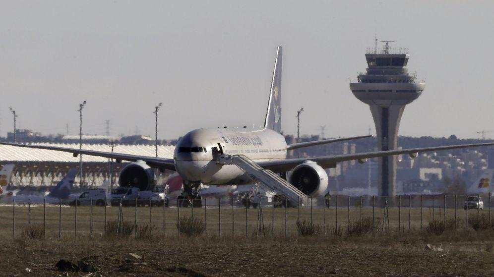 Foto: Aeropuerto Adolfo Suárez en Madrid. (EFE)