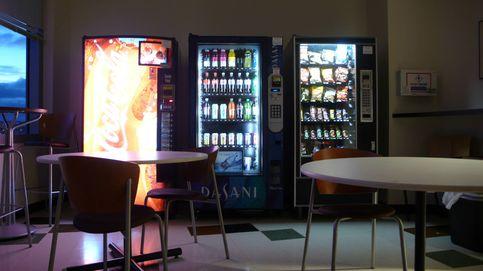 Las máquinas expendedoras no tienen manzanas porque no las compras