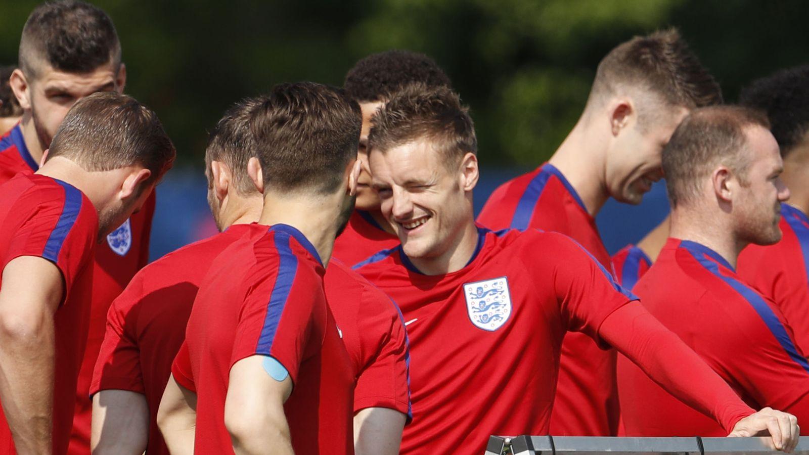 Foto: La selección de Inglaterra para la Eurocopa 2016 (EFE)