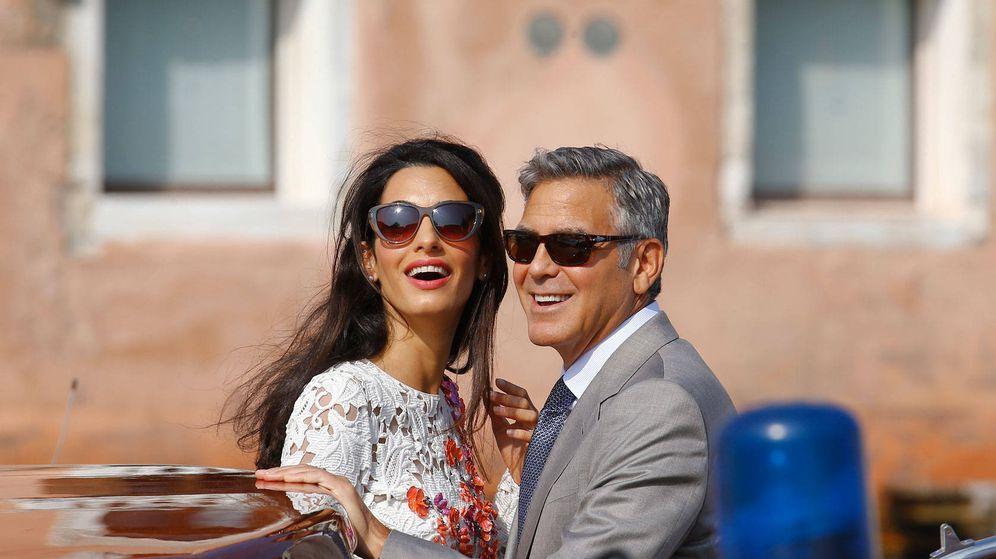 Foto: Amal y George Clooney. (Gtres)