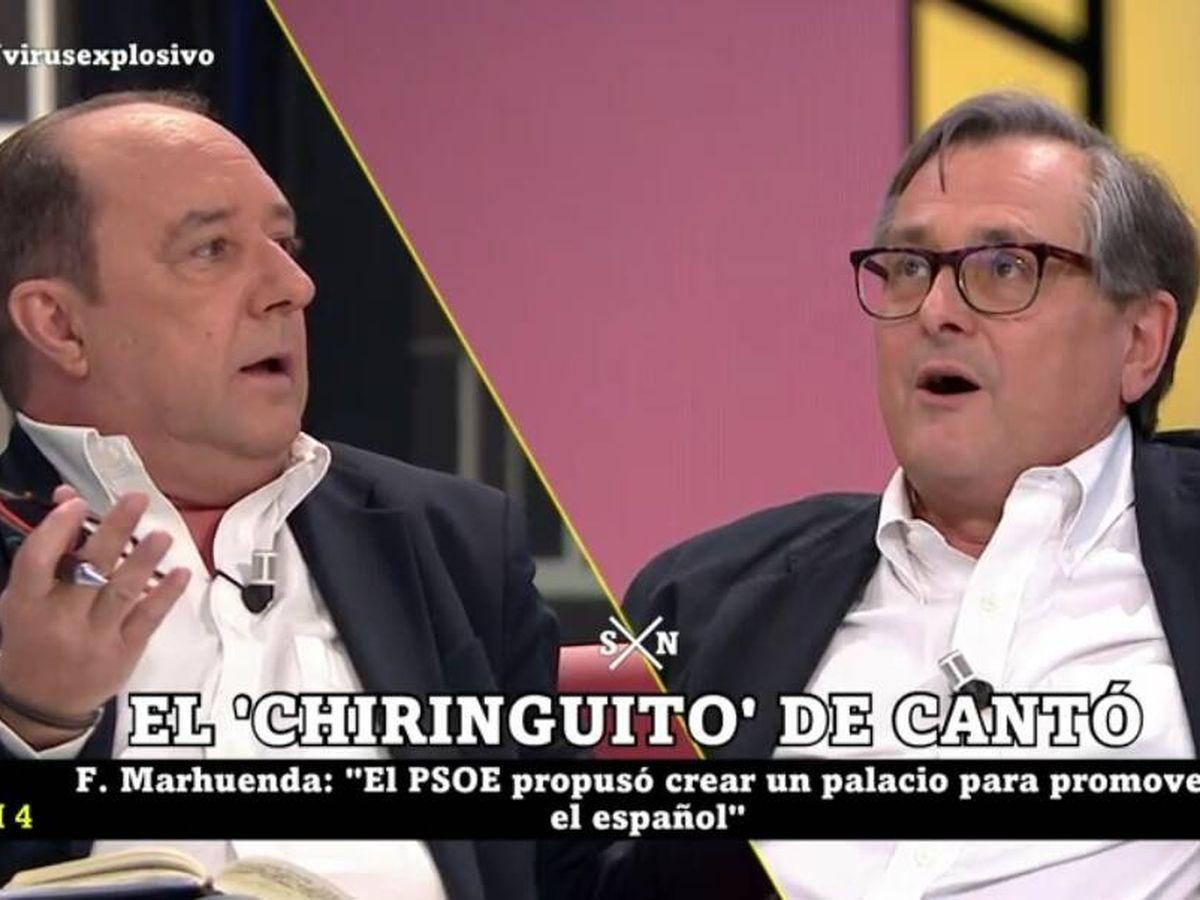 Foto: Jesús Maraña y Marhuenda. (La Sexta).