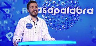 Post de 'Pasapalabra' | Orestes supera ya el número de programas de David Leo