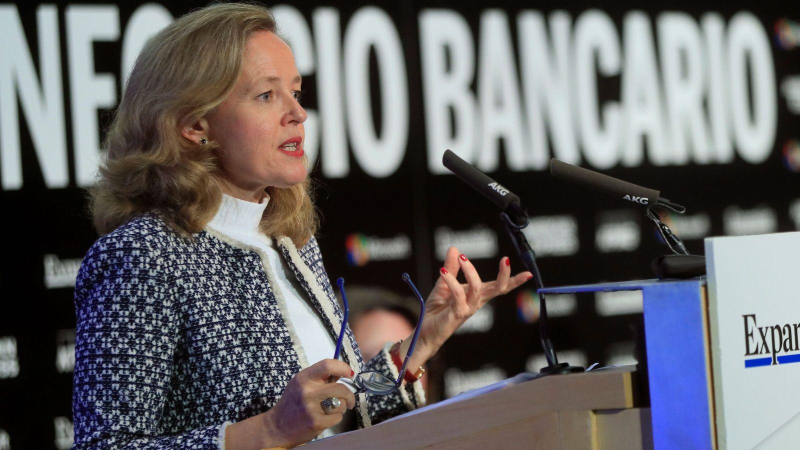 Foto: La ministra de Economía, Nadia Calviño. (EFE)