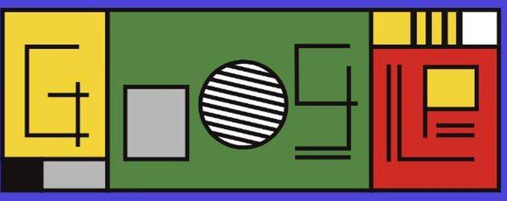Foto: 'Doodle' de Google por el centenario del movimiento Bauhaus