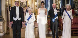 Post de Isabel, Camilla, Melania y Kate: póquer de damas en blanco en Buckingham