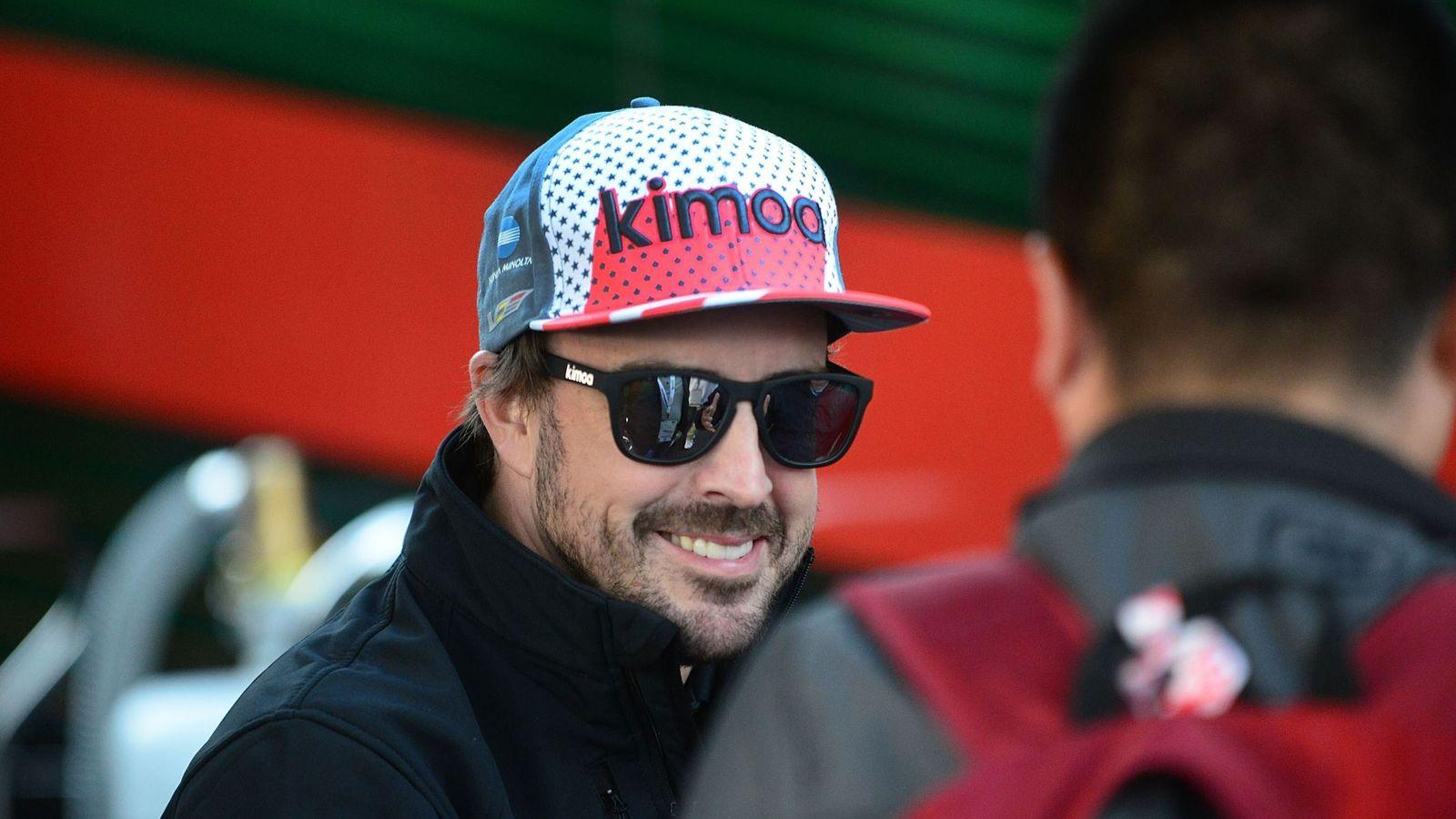Foto: Fernando Alonso abrió la temporada con una victoria en las 24 Horas de Daytona. (EFE)